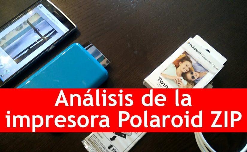 Impresora Polaroid Zip | Análisis en español