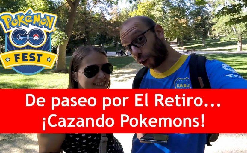 De paseo por El Retiro… ¡Cazando Pokemons! | Pokémon GO!