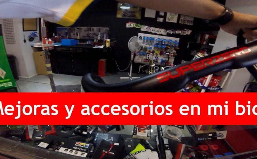 Nuevas mejoras y accesorios en mi bicicleta de carretera