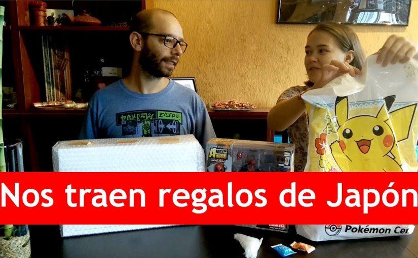 ¡Nos traen regalos de Japón!