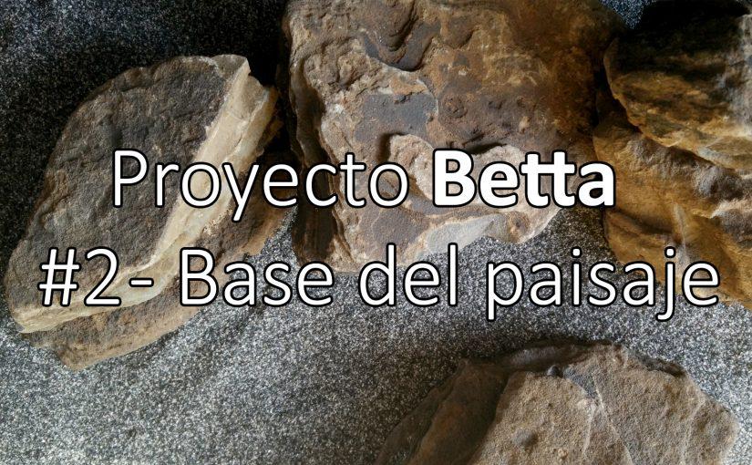 Proyecto Betta | #2 Colocando la base del paisaje y bonus