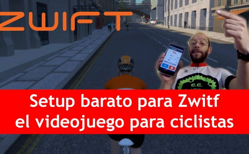 Setup barato para Zwift, el videojuego de ciclismo