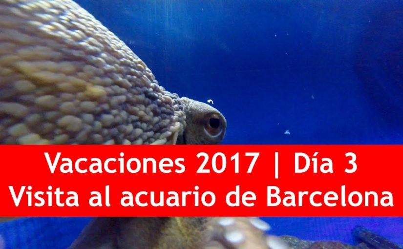 Vacaciones 2017 | Día 3: Visita al Acuario de Barcelona